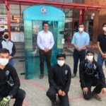 Hospital San Rafael instala cabina de desinfección