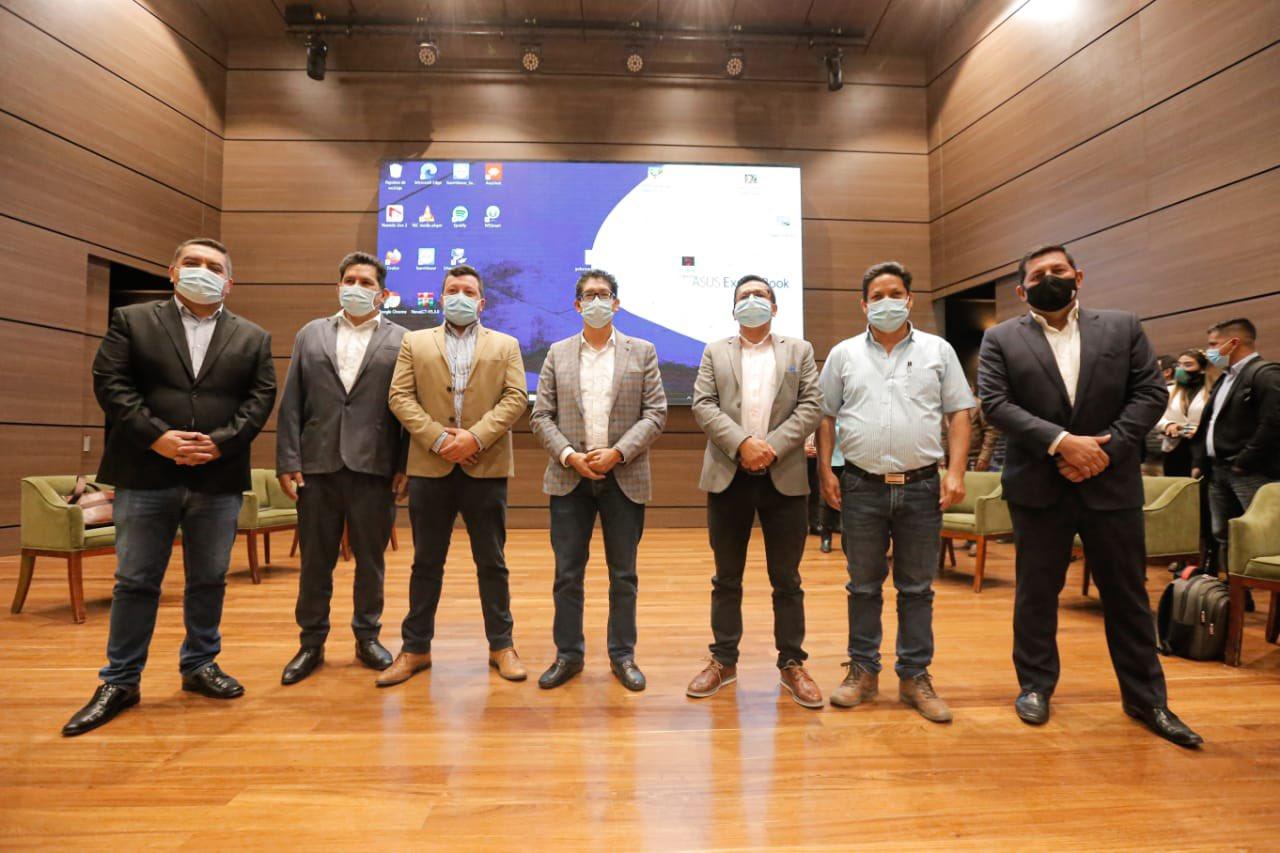 alcaldes electos OCAD
