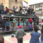 Minga Indígena Caucana pasó por Boyacá.